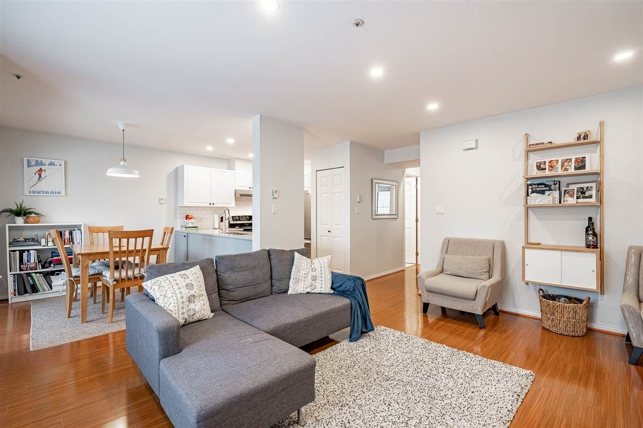"""Photo 3: Photos: 108 2677 E BROADWAY in Vancouver: Renfrew VE Condo for sale in """"BROADWAY GARDENS"""" (Vancouver East)  : MLS®# R2434845"""