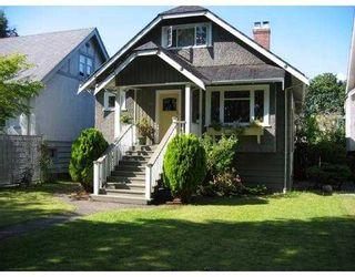 Photo 1: 3285 W 12TH AV in Vancouver: Kitsilano House for sale (Vancouver West)  : MLS®# V550471