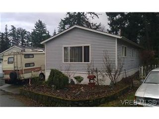 Photo 1: 25 1215 Craigflower Rd in VICTORIA: VR Glentana Manufactured Home for sale (View Royal)  : MLS®# 565978