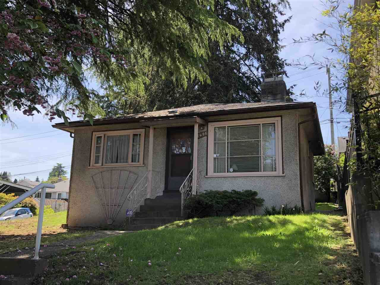 Main Photo: 2496 E 27TH Avenue in Vancouver: Collingwood VE House for sale (Vancouver East)  : MLS®# R2270492