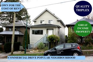 Main Photo: 1529 GRANT Street in Vancouver: Grandview Woodland House for sale (Vancouver East)  : MLS®# R2556930