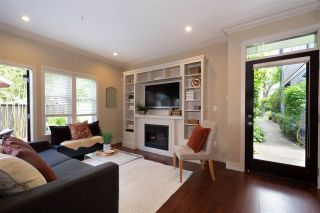 Photo 1: 4457 WELWYN STREET in Vancouver: Victoria VE Townhouse for sale (Vancouver East)  : MLS®# R2464051
