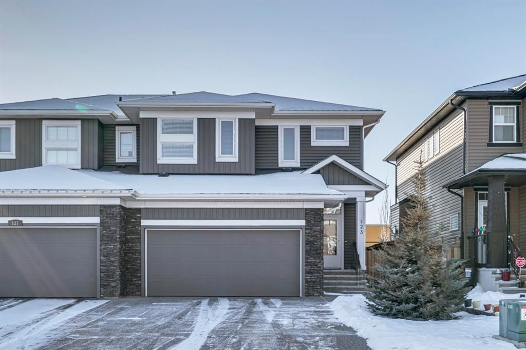 Main Photo: 123 Evanswood Circle NW in Calgary: Evanston Semi Detached for sale : MLS®# A1051099