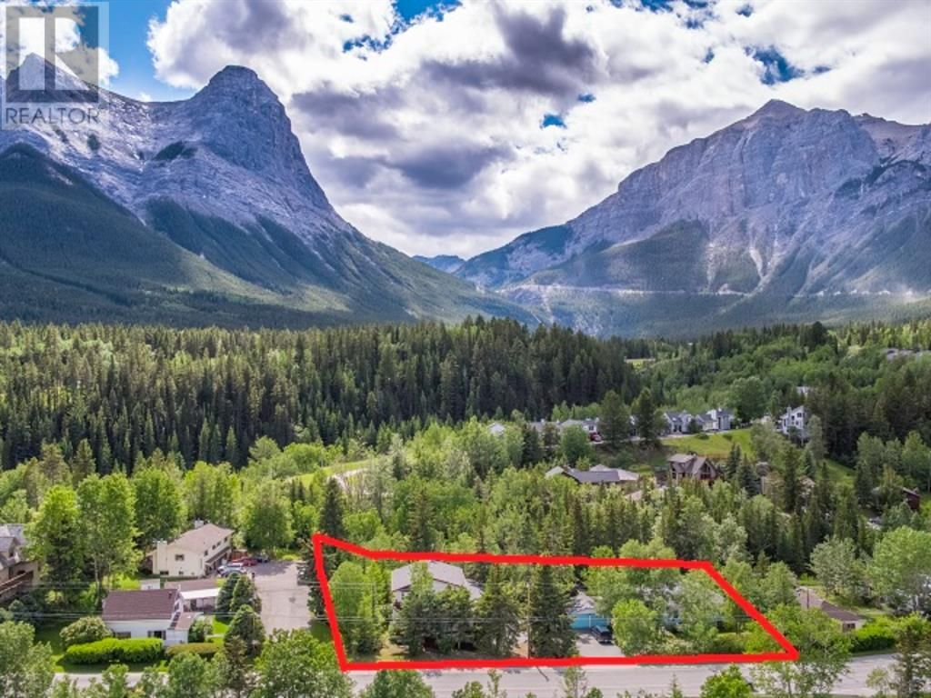 Main Photo: 107+109 Three Sisters Drive in Canmore: Vacant Land for sale : MLS®# A1056706