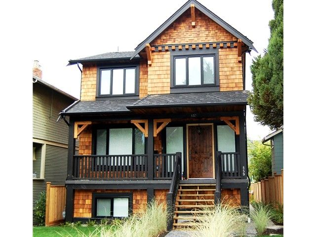 Main Photo: 857 DURWARD Avenue in Vancouver: Fraser VE House for sale (Vancouver East)  : MLS®# V970127
