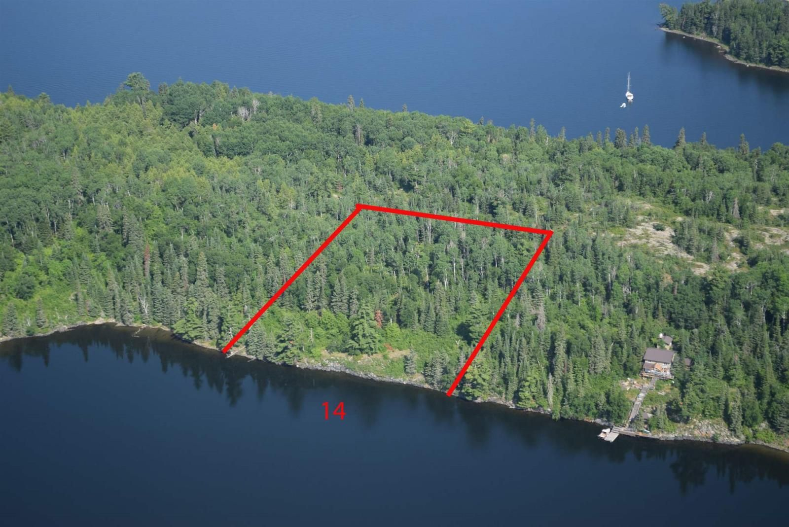 Main Photo: Lot 14 Five Point Island in South of Kenora: Vacant Land for sale : MLS®# TB212086