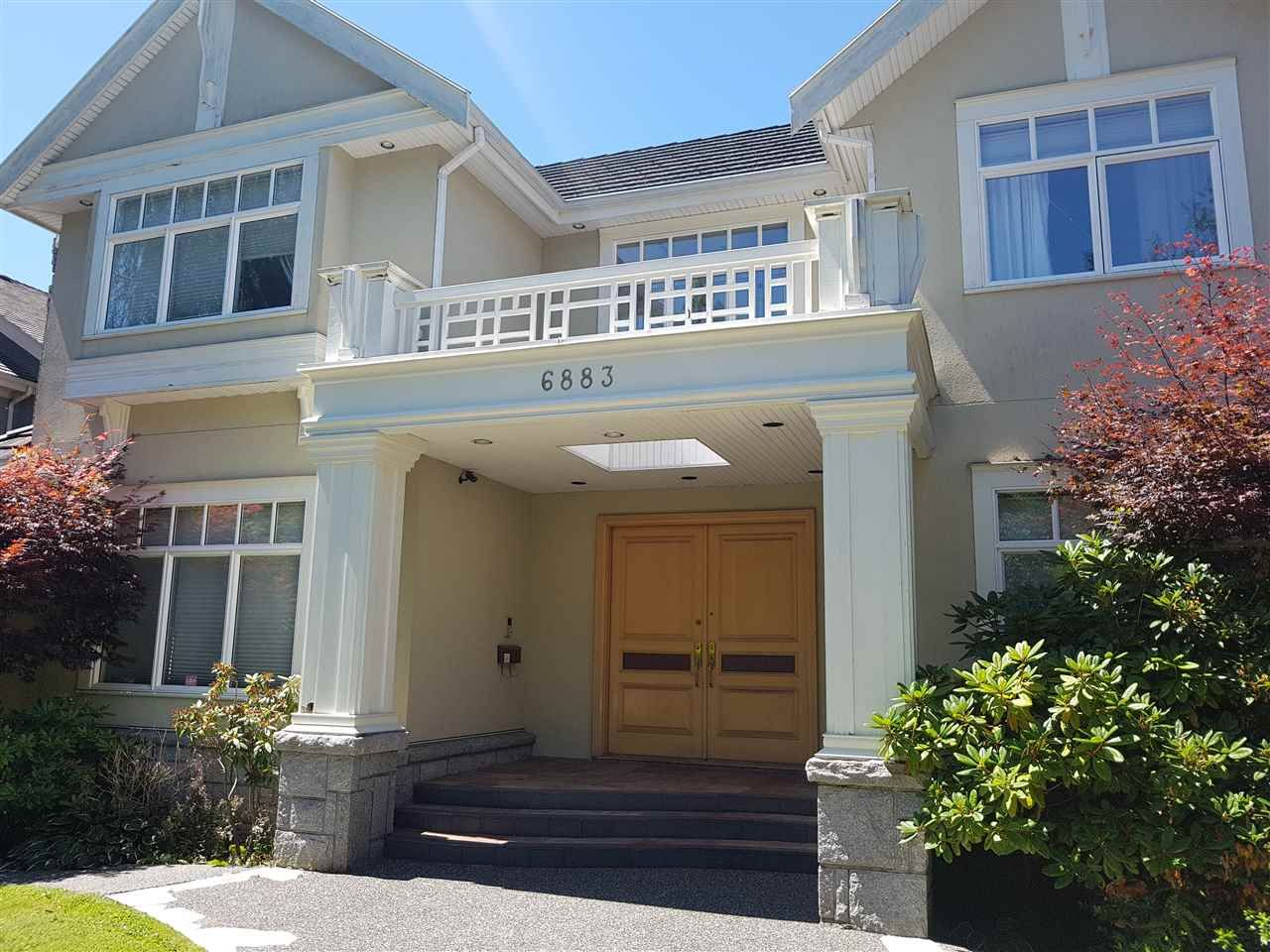Main Photo: 6883 ANGUS Drive in Vancouver: South Granville House for sale (Vancouver West)  : MLS®# R2553510