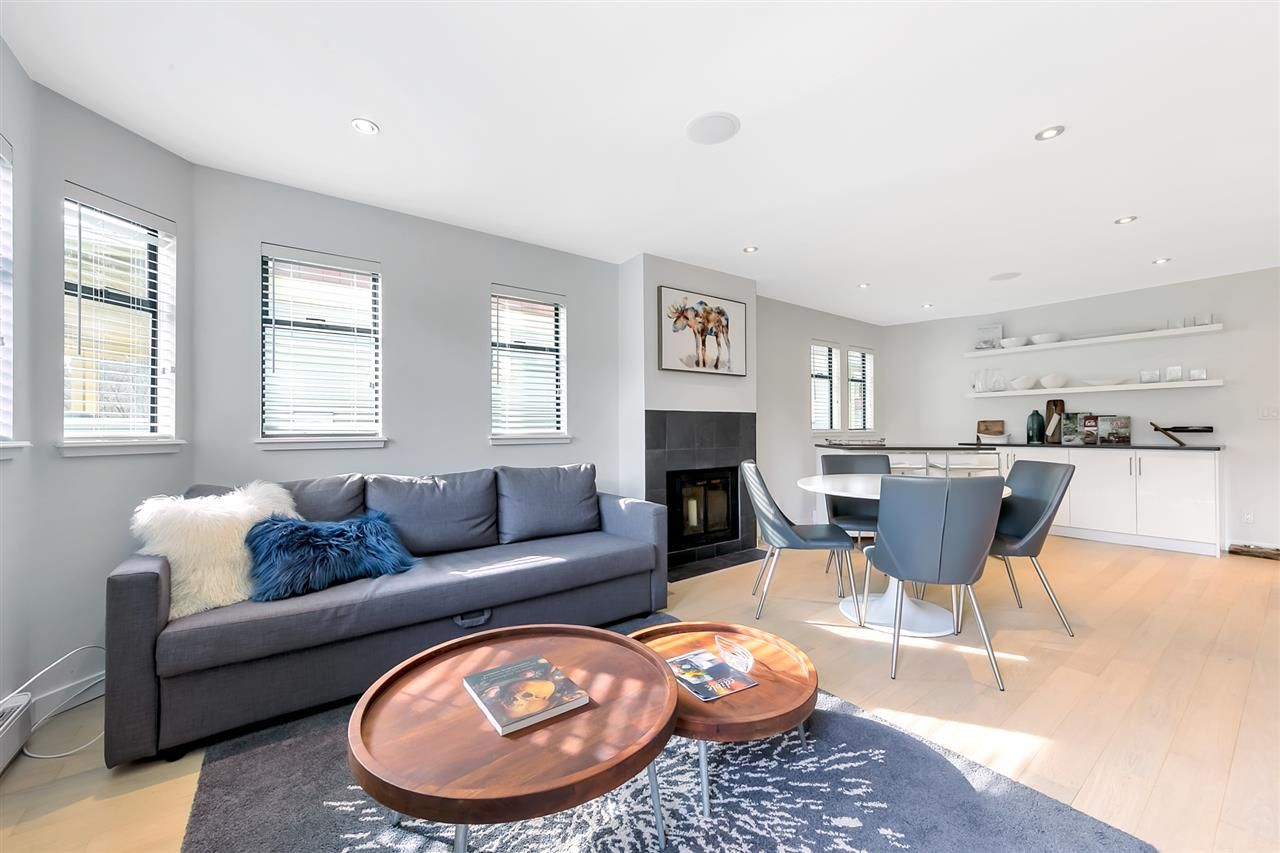 Main Photo: 2 1945 W 15TH Avenue in Vancouver: Kitsilano Townhouse for sale (Vancouver West)  : MLS®# R2562443