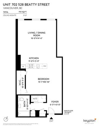 """Photo 11: 702 528 BEATTY Street in Vancouver: Downtown VW Condo for sale in """"BOWMAN LOFTS"""" (Vancouver West)  : MLS®# R2455074"""