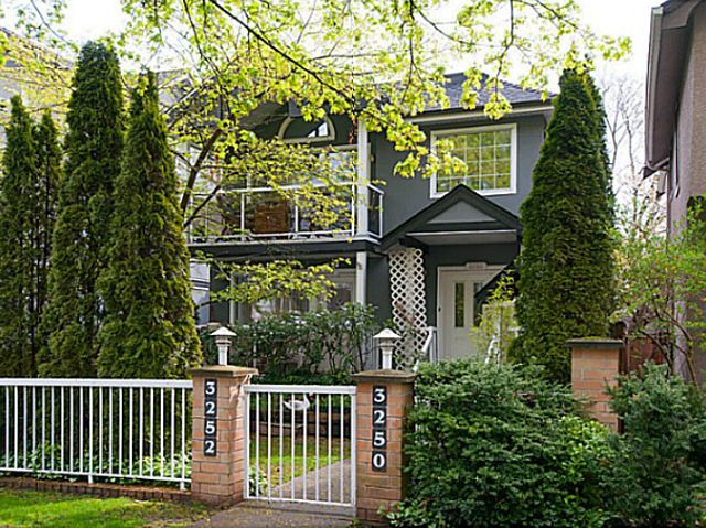 Main Photo: 3250 Quebec Street in Vancouver: Main Townhouse for sale (Vancouver East)  : MLS®# V1085881