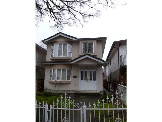 Main Photo: Vancouver East Real Estate Detached House Realtor
