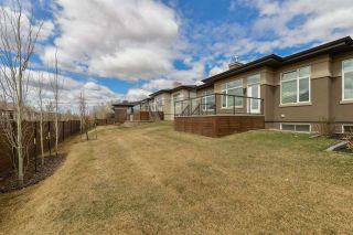 Photo 45: 910 WOOD Place in Edmonton: Zone 56 House Half Duplex for sale : MLS®# E4239285