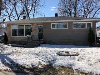 Photo 1: 148 Vryenhoek Crescent in Winnipeg: North Kildonan Residential for sale (3F)  : MLS®# 1807282