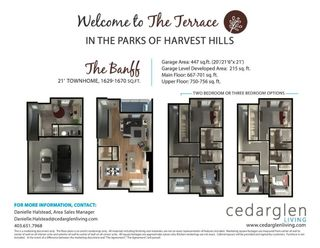Photo 30: 268 Harvest Hills Way NE in Calgary: Harvest Hills Row/Townhouse for sale : MLS®# A1069741