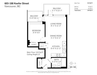 """Photo 32: 603 188 KEEFER Street in Vancouver: Downtown VE Condo for sale in """"188 Keefer"""" (Vancouver East)  : MLS®# R2547536"""