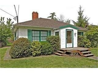 Photo 1: 1606 Burton Ave in VICTORIA: Vi Oaklands House for sale (Victoria)  : MLS®# 432900