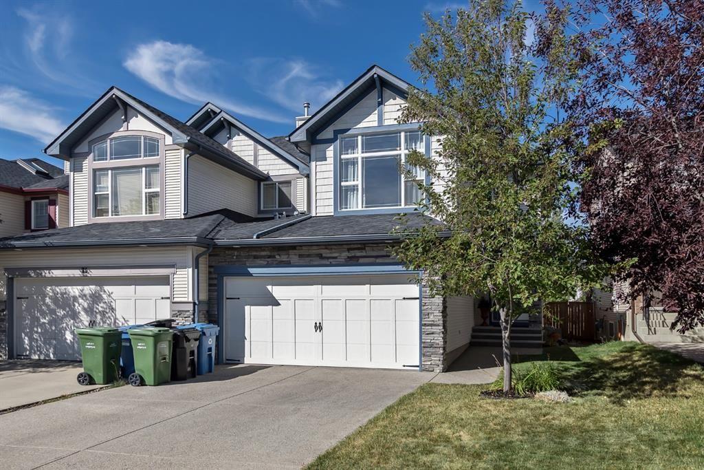 Main Photo: 71 SILVERADO RANGE Heights SW in Calgary: Silverado Semi Detached for sale : MLS®# A1030732