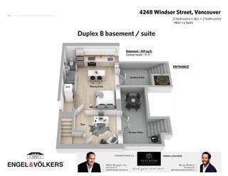 Photo 7: B 4248 WINDSOR Street in Vancouver: Fraser VE 1/2 Duplex for sale (Vancouver East)  : MLS®# R2547590
