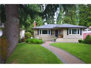 """Photo 1: 3791 SUNSET Boulevard in North Vancouver: VNVED House for sale in """"EDGEMONT"""" : MLS®# V1016597"""