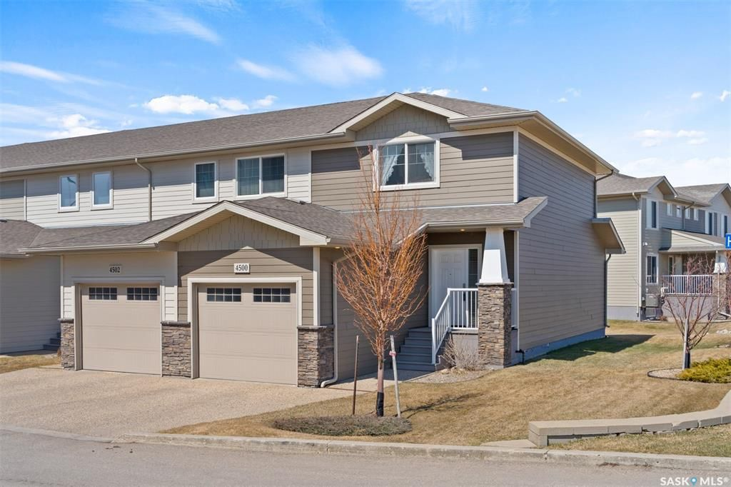 Main Photo: 4500 Harbour Village Way in Regina: Harbour Landing Residential for sale : MLS®# SK851964