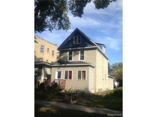 Photo 1: 371 Home Street in WINNIPEG: West End / Wolseley Residential for sale (West Winnipeg)  : MLS®# 1321837