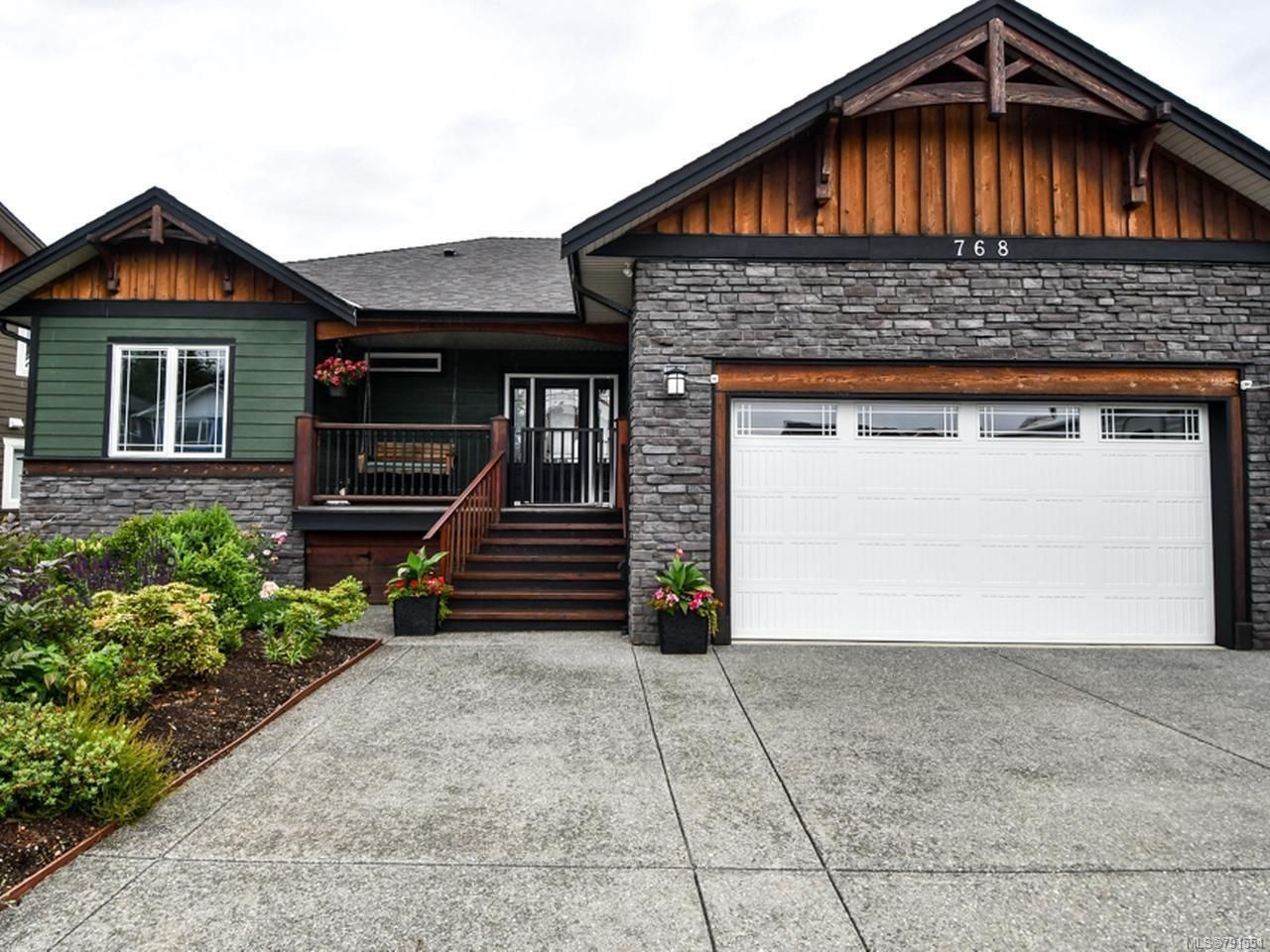 Main Photo: 768 TIMBERLINE DRIVE in CAMPBELL RIVER: CR Willow Point House for sale (Campbell River)  : MLS®# 791551
