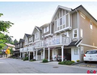 """Photo 1: 29 20176 68TH Avenue in Langley: Willoughby Heights Townhouse for sale in """"STEEPLECHASE"""" : MLS®# F2832539"""