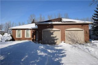 Photo 1: 95 RIVER ELM Drive in West St Paul: Riverdale Residential for sale (4E)  : MLS®# 1805132