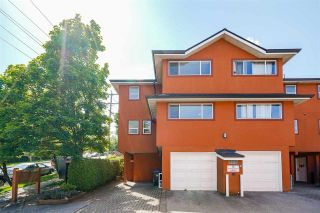 Photo 1: 101 303 CUMBERLAND Street in New Westminster: Sapperton Townhouse for sale : MLS®# R2584594