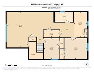 Photo 30: 416 HUNTBOURNE Hill NE in Calgary: Huntington Hills Detached for sale : MLS®# C4299383