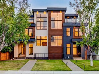 Main Photo: 821 20A Avenue NE in Calgary: Winston Heights/Mountview Semi Detached for sale : MLS®# A1117798