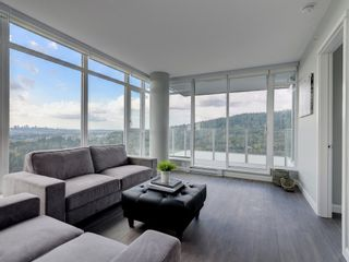 """Photo 5: 2602 520 COMO LAKE Avenue in Coquitlam: Coquitlam West Condo for sale in """"THE CROWN"""" : MLS®# R2342007"""