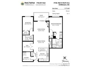 """Photo 20: 106 45615 BRETT Avenue in Chilliwack: Chilliwack W Young-Well Condo for sale in """"The Regent"""" : MLS®# R2241094"""