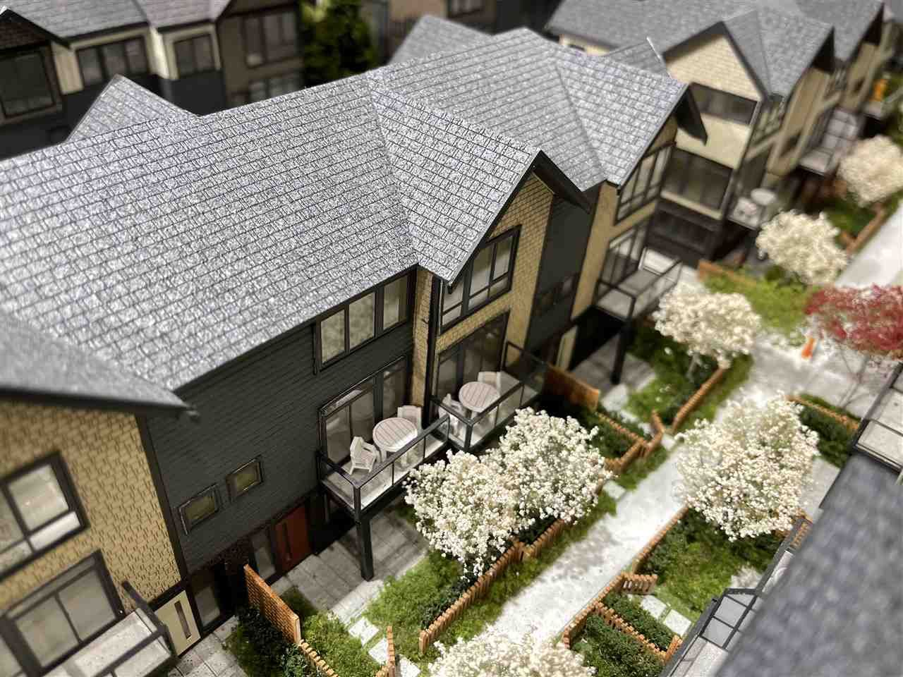 "Main Photo: 75 4300 THOMPSON Road in Richmond: Hamilton RI Townhouse for sale in ""PARC THOMPSON"" : MLS®# R2540470"