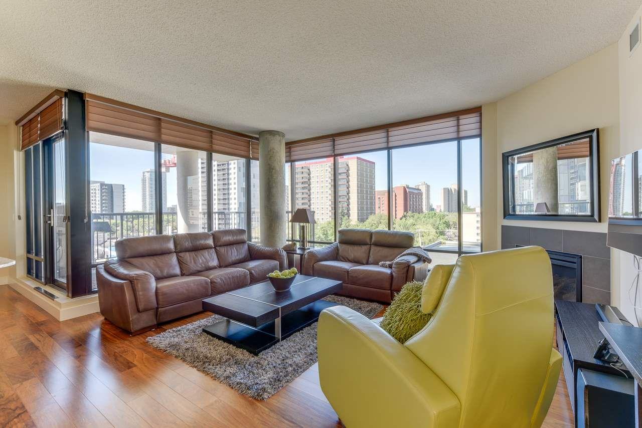 Photo 4: Photos: 601 11933 JASPER Avenue in Edmonton: Zone 12 Condo for sale : MLS®# E4233069