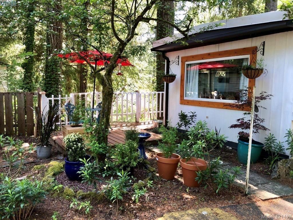 Enjoy a little space to garden.