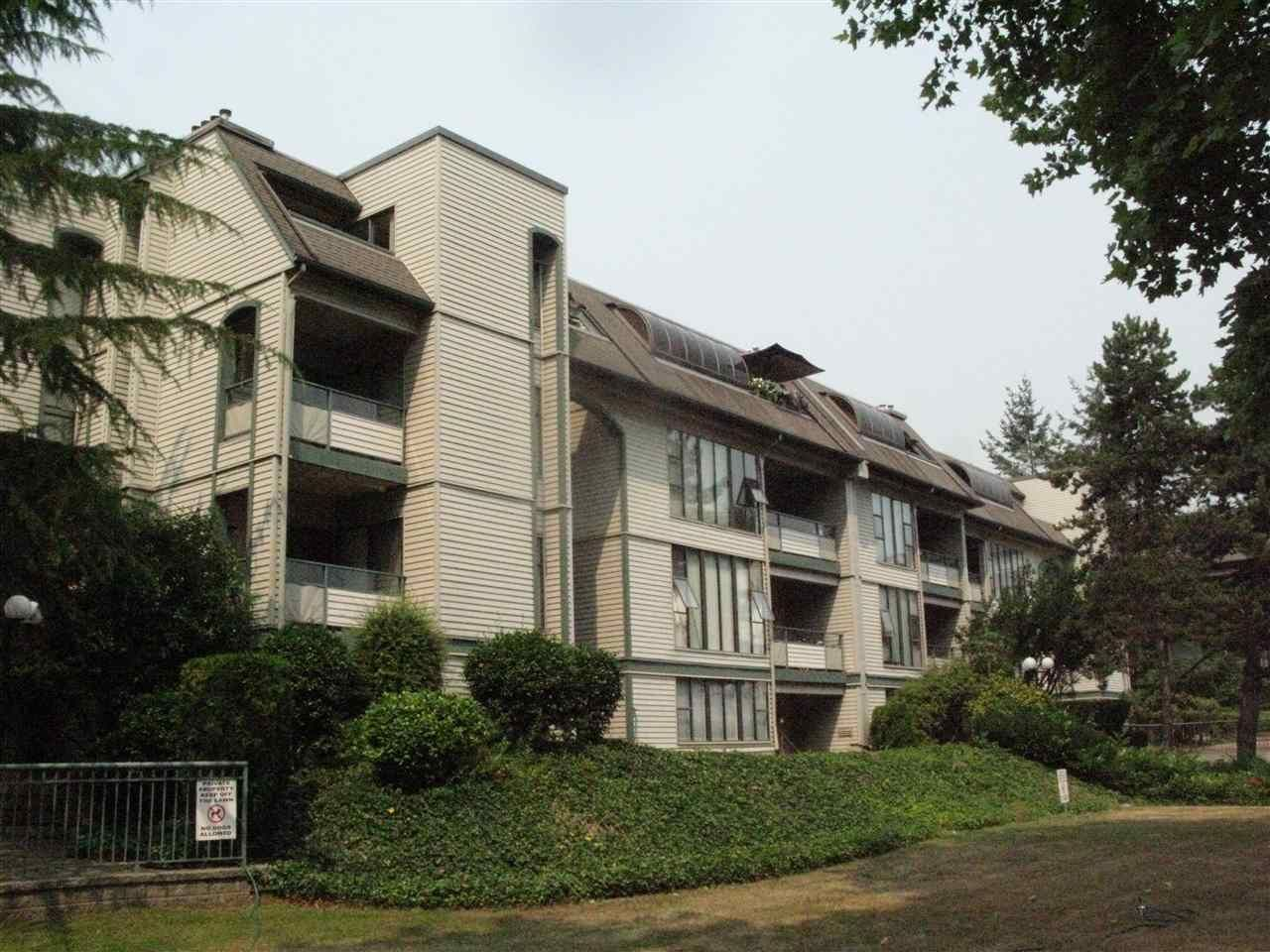 "Main Photo: 106 2925 GLEN Drive in Coquitlam: North Coquitlam Condo for sale in ""GLENBOROUGH"" : MLS®# R2195122"