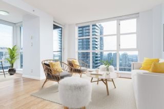 """Photo 1: 2404 1155 SEYMOUR Street in Vancouver: Downtown VW Condo for sale in """"BRAVA TOWERS"""" (Vancouver West)  : MLS®# R2618901"""