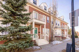 Photo 1: 4481 McCrae Avenue in Edmonton: Zone 27 Townhouse for sale : MLS®# E4234457