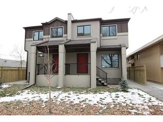 Photo 2: 1 117 13 Avenue NW in CALGARY: Crescent Heights Townhouse for sale (Calgary)  : MLS®# C3608954