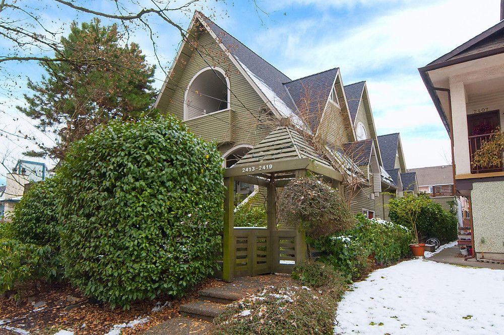Main Photo: 2415 W. 6th Avenue: Kitsilano Home for sale ()