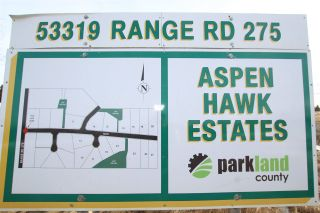 Photo 1: 8 53319 RGE RD 275: Rural Parkland County Rural Land/Vacant Lot for sale : MLS®# E4233742