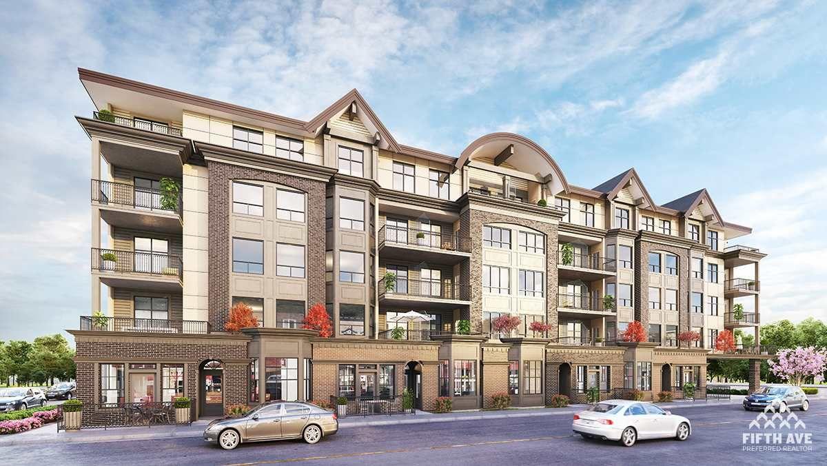 Main Photo: 223 2485 MONTROSE AVENUE in Abbotsford: Central Abbotsford Condo for sale : MLS®# R2454345