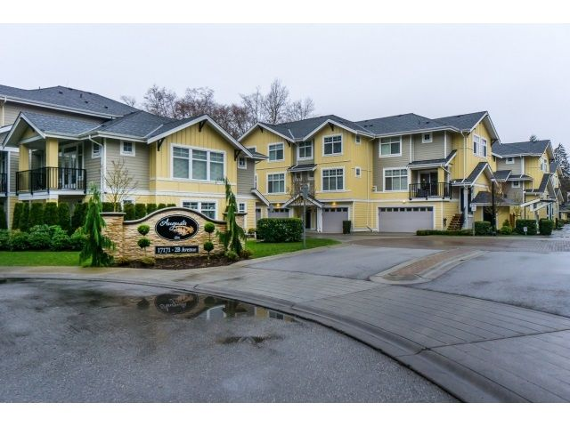 Main Photo: 28 17171 2B Ave in Surrey: Townhouse for sale : MLS®# R2054538