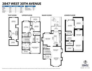 """Photo 40: 3847 W 30TH Avenue in Vancouver: Dunbar House for sale in """"WEST OF DUNBAR"""" (Vancouver West)  : MLS®# R2551536"""
