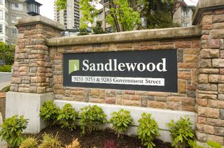 """Photo 1: 212 9233 GOVERNMENT Street in Burnaby: Government Road Condo for sale in """"SANDLEWOOD"""" (Burnaby North)  : MLS®# V764462"""