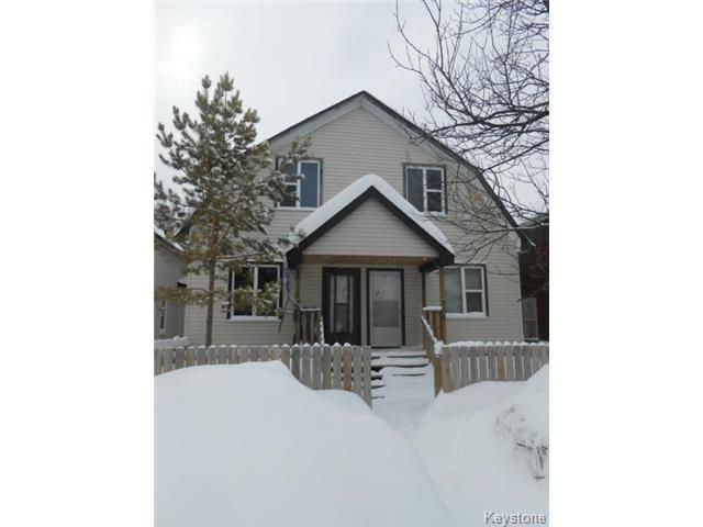 Main Photo: 706 Magnus Avenue in WINNIPEG: North End Residential for sale (North West Winnipeg)  : MLS®# 1403834