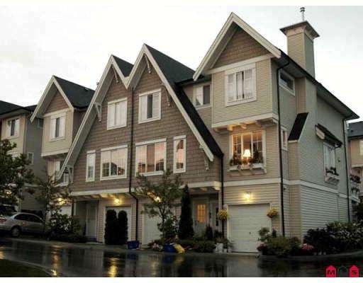 "Main Photo: 45 20560 66TH Avenue in Langley: Willoughby Heights Townhouse for sale in ""AmberLeigh"" : MLS®# F2903336"