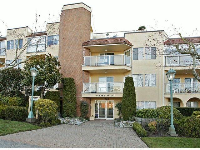 "Main Photo: 209 1280 FIR Street: White Rock Condo for sale in ""Oceana Villa"" (South Surrey White Rock)  : MLS®# F1406984"