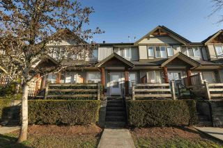 """Photo 1: 63 1055 RIVERWOOD Gate in Port Coquitlam: Riverwood Townhouse for sale in """"Mountain View Estates"""" : MLS®# R2446055"""